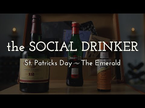Better St. Patrick's Day Cocktail! - The Social Drinker - How to Make an Emerald