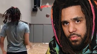 J Cole Shows Off INSANE 3 Point Shooting Skills While Team USA Suffers EMBARRASSING 36 17 Loss