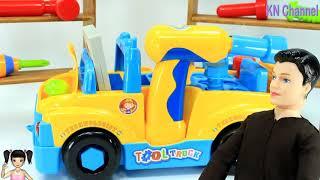 Thơ Nguyễn - Búp bê sửa đồ chơi xe cần cẩu