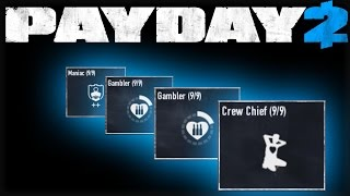 The BEST team builds - Payday 2 (3 team DW builds)