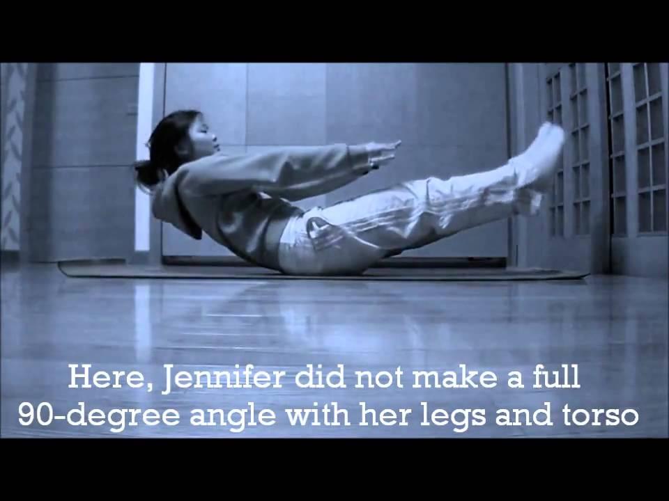 Jackknife Sit up Exercise Jennifer Jackknife Sit up