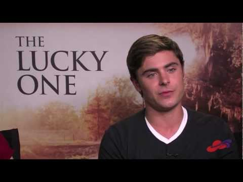 Red Hat Society Interviews Zac Efron and Taylor Schilling, Stars of The Lucky One