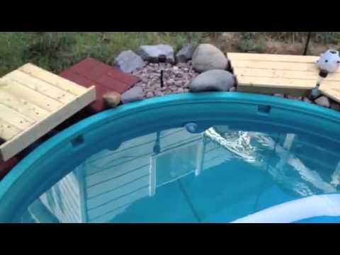 Stock Tank War Inground Pool Youtube