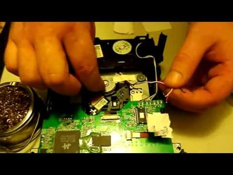 How to replace your benq dvd disc drive spindle motor. Xbox 360 repair tutorial