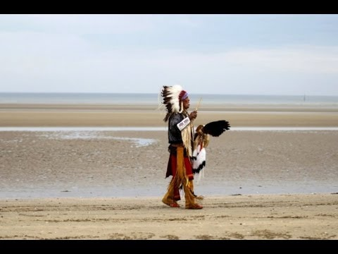 70th D-day ♥ Tribute to native Americans of the Comanche nation to Utah Beach