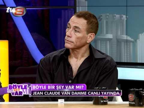 Jean Claude Van Damme Türk Televizyonlarında ilk kez tv8'de...