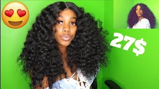 Deep Wave Virgin Hair DUPE for CHEAP! ft. Samsbeauty Amani 1b