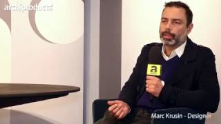 Archiproducts Milano | Desalto - Marc Krusin talks about the table Clay and its variants and uses