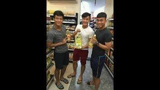Khoảnh khắc hài hước nhất của Bùi Tiến Dũng(thủ môn) và các đồng đội U23 Việt NAM