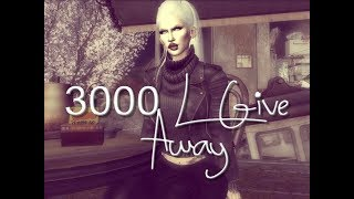 ~Second Life~ 3000 Linden Give Away!