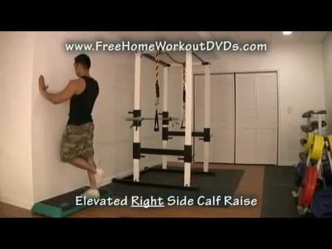 15 Simple Bodyweight Calf Raise Exercise Variations! Image 1
