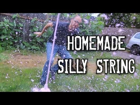 Make Homemade Silly String!