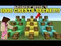 Minecraft: 1000 CHESTS SECRET!! - DAVID AND THE 1000 CHESTS! - Custom Map