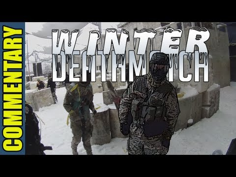 Close Quarters Paintball in the Snow - Winter Deathmatch