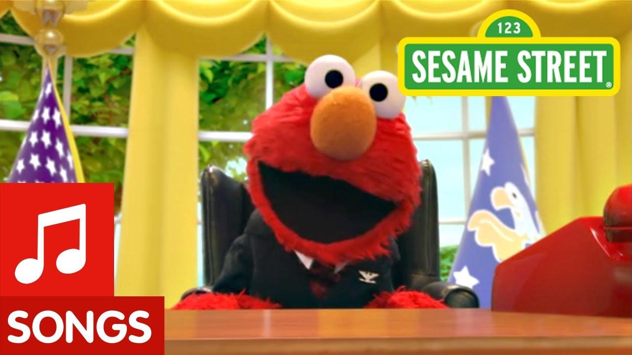 sesame street  elmo is the first monster president