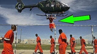 5 CRAZIEST PRISON ESCAPES OF ALL TIME