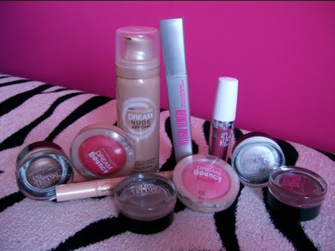 New Maybelline Makeup Reviews!