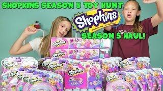 Shopkins Season 5 Toy Hunt - Shopkins Season 5 Haul