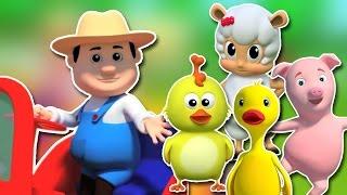 Old MacDonald avait une ferme | enfants chanson compilation | bébé rime | Old Macdonald | Kids Song