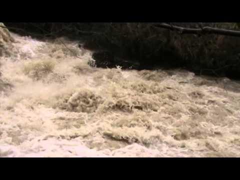 Ορμητικά νέρα Μεγάλος Ποταμός Φυλακτή Λίμνη Πλαστήρα 4-2-15