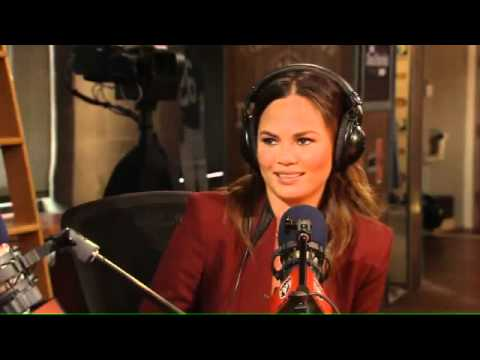 Chrissy Teigen in studio 10/8/12