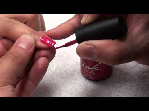 How to apply - INK SOAK OFF GEL POLISH