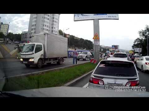 крушение автобуса Владивосток ост Молодежная