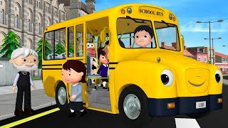 детские песенки | Колёса у автобуса | мультфильмы для детей | Литл Бэйби Бум
