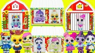 LOL Mane 6 Missing Little Sisters Nightmare Moon Cutie Mark Crew Rescue