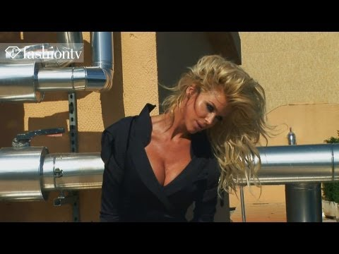 Victoria Silvstedt for L'Oreal: Photoshoot in Monaco, Part 1 | FashionTV