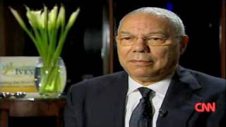 Colin Powell on Obama Victory - Emotional Reaction