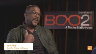 "Tyler Perry talks about ""Boo 2: A Madea Halloween"
