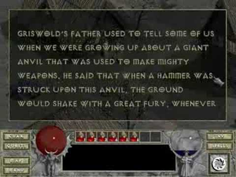 Diablo - Anvil of Fury (Diablo 1)