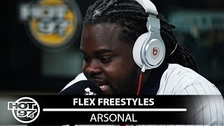 Arsonal Freestyles on Flex | #Freestyle054