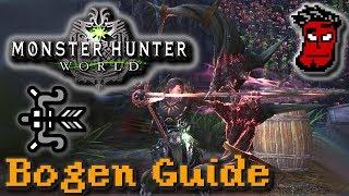 Monster Hunter World: Bogen Tutorial / Guide + Tipps zu Rüstung, Build | Gameplay [German Deutsch]