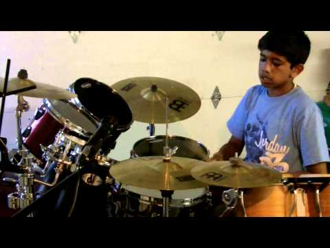 Usher-Dj got us fallin' in love again Drum Cover By Subhash - Usher-Dj got us fallin' in love again