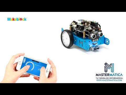 MBot Robotica Para Niños - Monta Tu Robot De 38 Piezas Y Diviértete