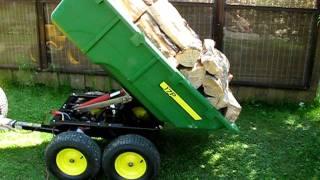 John Deere 17P hydraulic dump cart