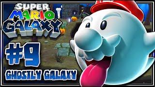 Super Mario Galaxy (1080p 60FPS 100%) - Part 9 Ghostly Galaxy