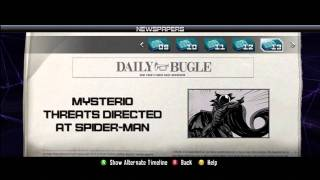 Spiderman Edge of Time Newspapers