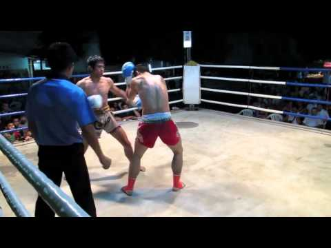 Devestating Muay Thai Leg Kicks - JR Muay Thai  fight - Lanna Muay Thai Image 1