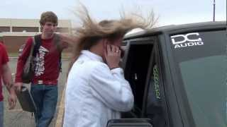 MASSIVE HAIRTRICK/SCARE WITH THE JEEP 4 XL 15'S