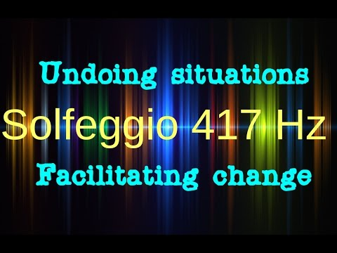 Solfeggio  417 Hz: Undoing situations and facilitating change, Isochronic Tones, Binaural Beats