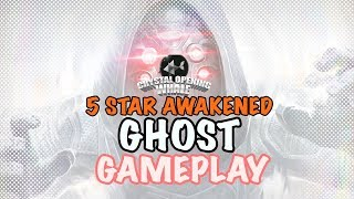 5 Star Ghost Awakened Gameplay- The PHASING GOD -Marvel Contest of Champions