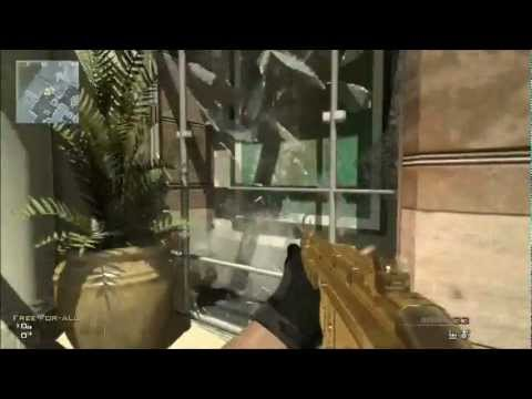 MW3 DLC First Look At the map Oasis Gameplay Walkthrough