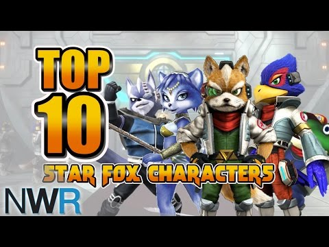 Top 10 Star Fox Characters