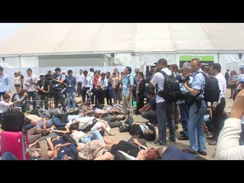 Gerry Arances Speech in COP 20 Lima Peru Climate Justice or Death