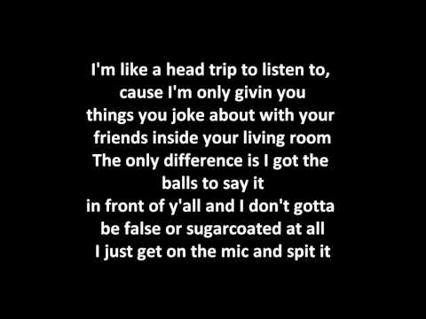 Eminem - The Real Slim Shady Lyrics video