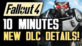 FALLOUT 4 News: 10 Minute DLC INFO BLOWOUT! All Things Survival Mode! (With Fallout 4 Gameplay)