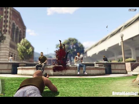 GTA 5 BRUTAL COMPILATION (Grand Theft Auto V Franklin/Funny/Fail/Thug life)